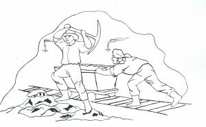 praca-górnika-w-kopalni