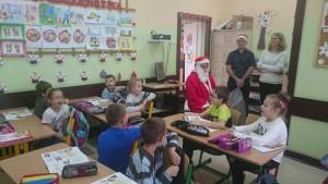 Mikołaj w SP 24