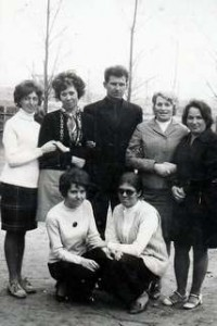 Grono nauczycielskie 1969r.