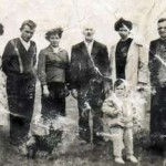 Z lewej: Śmiglarska, Wiórkiewicz, Matylda Woś, Ignacy Lipski, Celina Król
