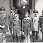 P. Eugenia Lange z dziećmi