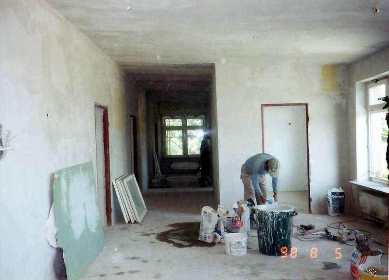 Rozbudowa szkoły - remont korytarzy