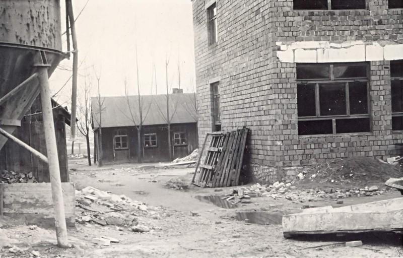 Budowa nowej szkoły w 1972r.